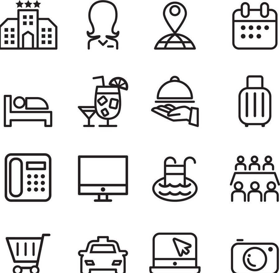 Konkurrenceindlæg #19 for Design of 20 icons