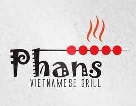 piratessid tarafından Design a Logo for Phans- Vietnamese Grill için no 104