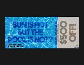 #40 для Coupon Design for Solar Pool Heating от Skylarfox