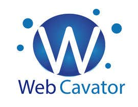 #44 cho Logo Design for webcavator.com bởi faxcel
