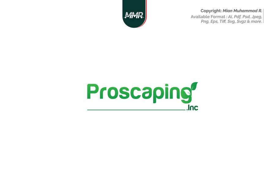 Penyertaan Peraduan #337 untuk Create a Logo for ProScaping Inc.