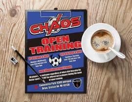 #18 для Need flyer created for open training от azizkhancpi