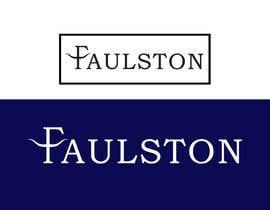 #39 for Logo Design for FAULSTON af nssab2016