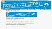 Contest Entry #55 for Create a Site Header for Travel Blog