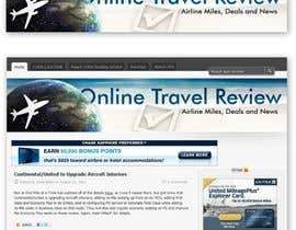 #56 para Create a Site Header for Travel Blog de danmandiuc