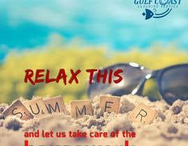 nº 24 pour Summer graphic design advertisement par sbh5710fc74b234f