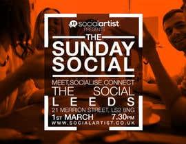 #15 untuk Design a Flyer for Social Artist Events oleh Richardgambol