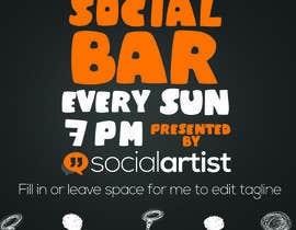 #6 untuk Design a Flyer for Social Artist Events oleh MadGavin