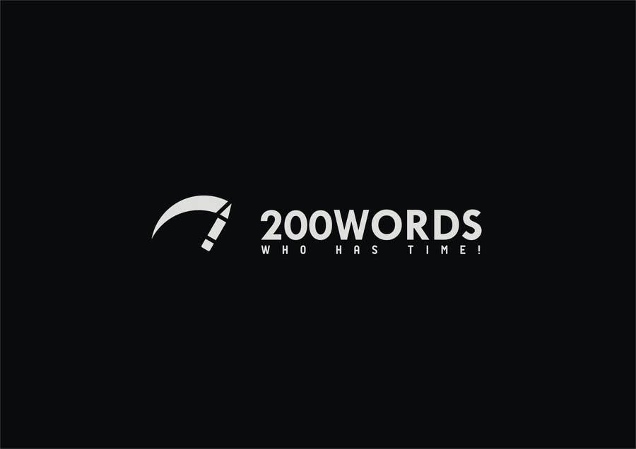 Penyertaan Peraduan #                                        37                                      untuk                                         Design a Logo for 200words.ae
