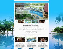 nº 4 pour Website Design for Golden Hill Bungalows Hotel par sayedphp