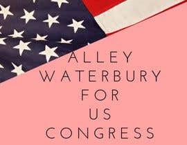 #3 for Alley Waterbury for US Congress by AdmireArt