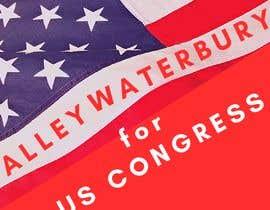 nº 5 pour Alley Waterbury for US Congress par AdmireArt
