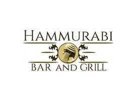 #52 for LOGO: Hammurabi Bar and Grill by GrottoDesign