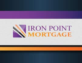 #197 untuk Logo Design for Iron Point Mortgage oleh graphics7