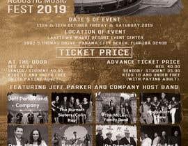 Nro 14 kilpailuun Need a concert flyer created käyttäjältä MOMODart
