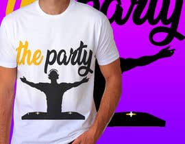 "#79 для T-shirt design ""The Party"" от royg7327"