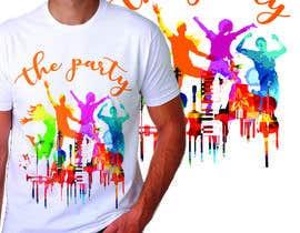 """Nro 91 kilpailuun T-shirt design """"The Party"""" käyttäjältä royg7327"""
