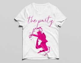 "#83 для T-shirt design ""The Party"" от golamrahman9206"