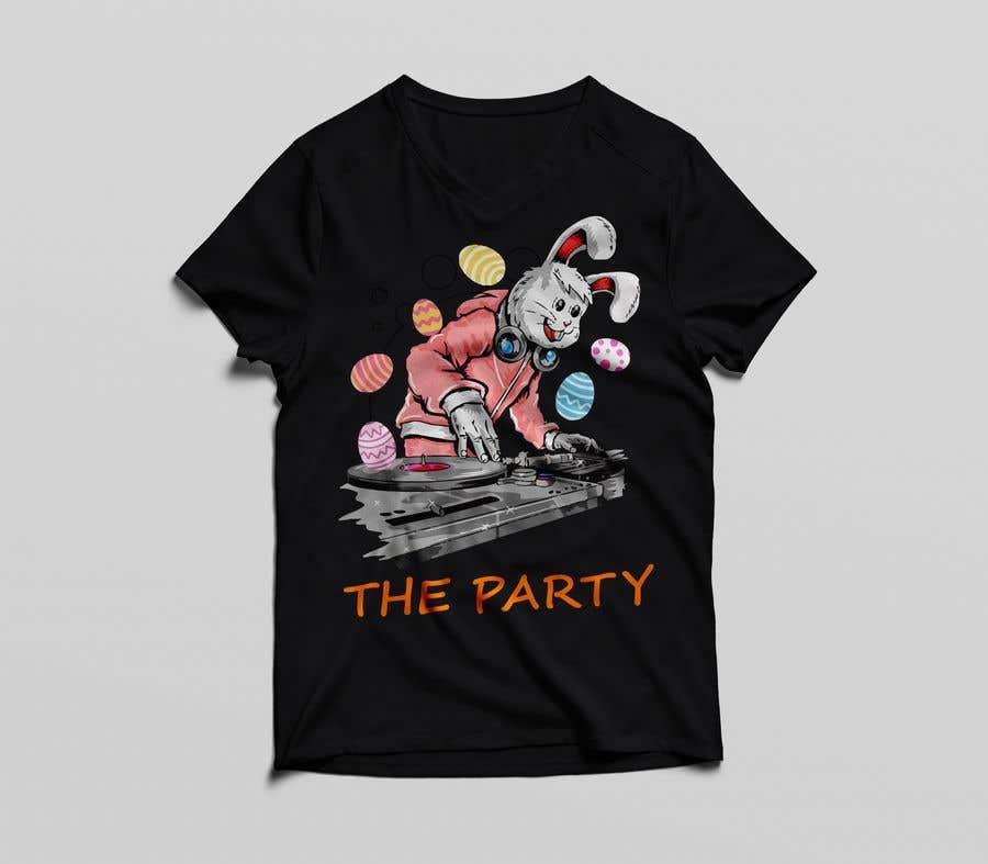 """Kilpailutyö #89 kilpailussa T-shirt design """"The Party"""""""