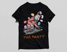 "#89 для T-shirt design ""The Party"" от golamrahman9206"