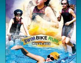 #51 untuk Triathlon Sports Poster Design oleh saurov2012urov