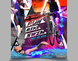 #32 untuk Triathlon Sports Poster Design oleh eliartdesigns