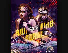 #63 untuk Triathlon Sports Poster Design oleh Van0va