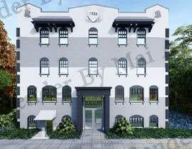 Nro 3 kilpailuun Exterior Render - Hotel käyttäjältä maiiali52