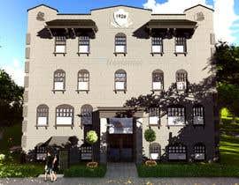 Nro 13 kilpailuun Exterior Render - Hotel käyttäjältä sampathDJ