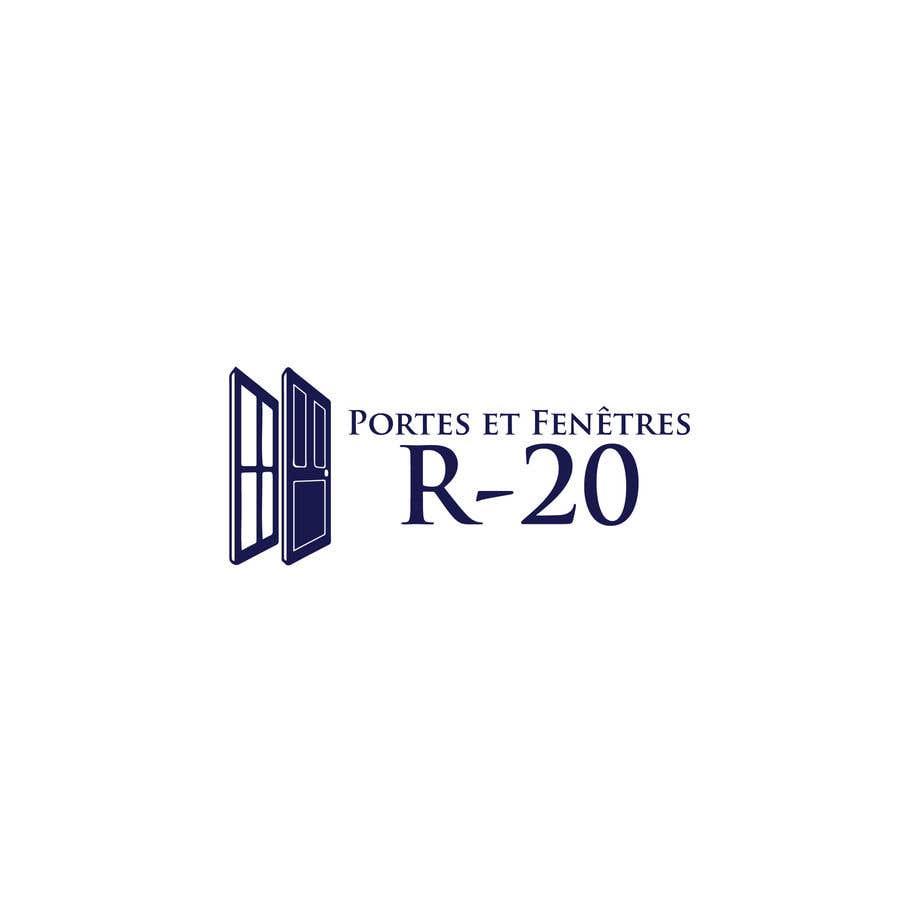 Penyertaan Peraduan #107 untuk Design a logo for a doors and windows company