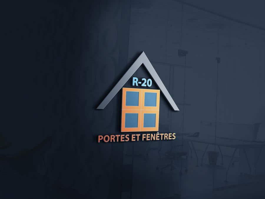 Penyertaan Peraduan #166 untuk Design a logo for a doors and windows company