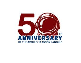 #21 for Logo for 50th anniversary of moon landing by RaufIndoImage