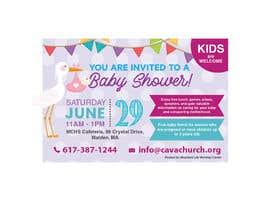 #65 untuk Baby shower flyer oleh eling88