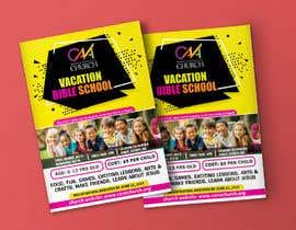 nº 59 pour Vacation Bible School Flyer par prabhjotsajjan
