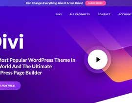#1 for Find Suitable Wordpress Template with Carousel and Page af dewiwahyu