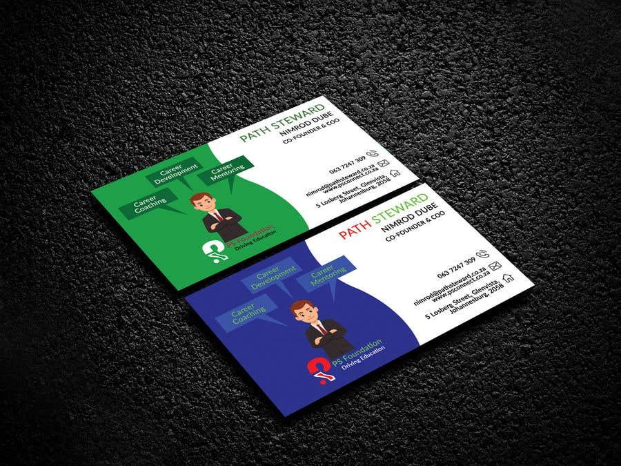 Penyertaan Peraduan #192 untuk Business card Design