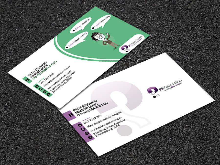 Penyertaan Peraduan #115 untuk Business card Design