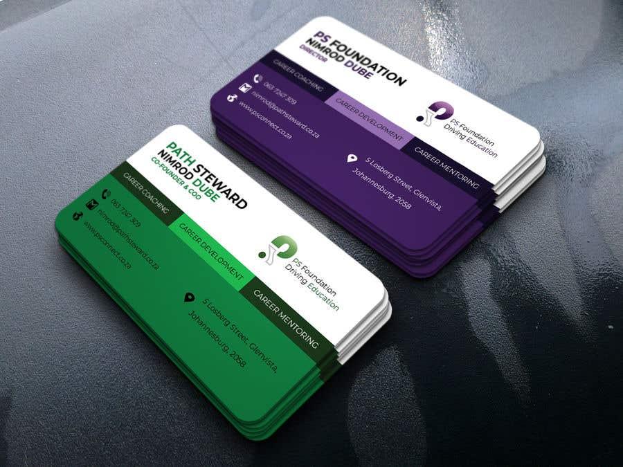Penyertaan Peraduan #244 untuk Business card Design