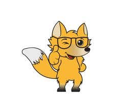 nº 18 pour Design a cartoon fox mascot par ysrogers
