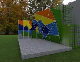 sandraquiros tarafından Geometric Pattern Mural Design For A Bouldering (Climbing) Wall için no 21