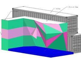 emastojanovska tarafından Geometric Pattern Mural Design For A Bouldering (Climbing) Wall için no 6