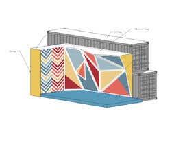 eudelia tarafından Geometric Pattern Mural Design For A Bouldering (Climbing) Wall için no 12