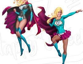 #28 for Realistic female superhero character - JP by princegayares