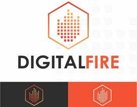 #107 for Digital Fire Logo Design by AntonLevenets
