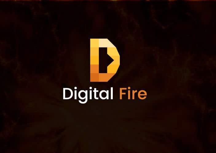 Contest Entry #135 for Digital Fire Logo Design