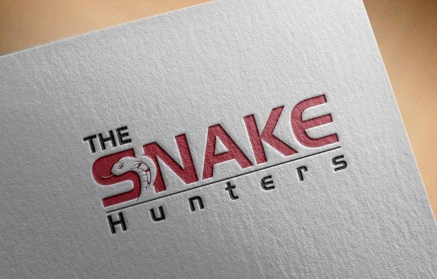 Penyertaan Peraduan #                                        40                                      untuk                                         Design a Logo for The Snake Hunters