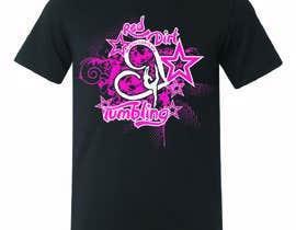 Nro 22 kilpailuun Tumbling team shirt design käyttäjältä stsohel92