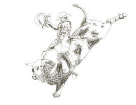 #5 cho Bull rider sketch. bởi MeganPartlo