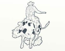 #7 for Bull rider sketch. by unreal0044
