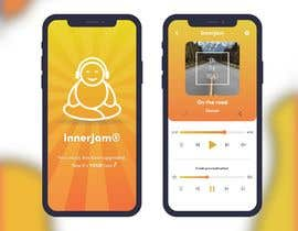 #13 for InnerJam Mobile App Needs a Launch Screen and a Music Player Screen Designed! by K04LA